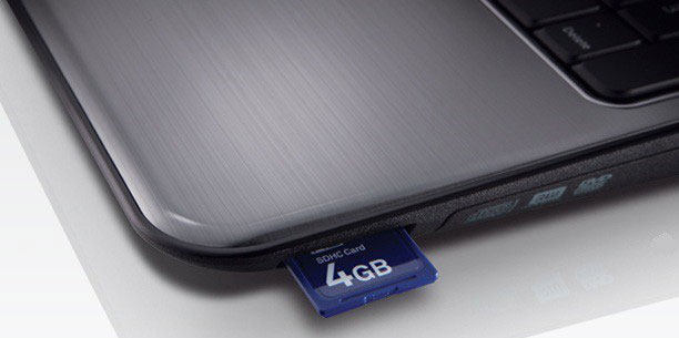 Connect Formatted SD Card with Your Computer