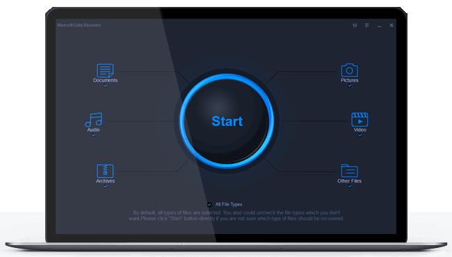 iBeesoft Data Recovery Software Screenshot