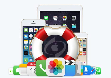 how to recover DCIM folder on iPhone