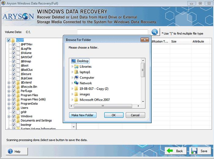 Aryson data recovery
