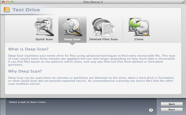 Best Mac Data Recovery Software - Data Rescue 4