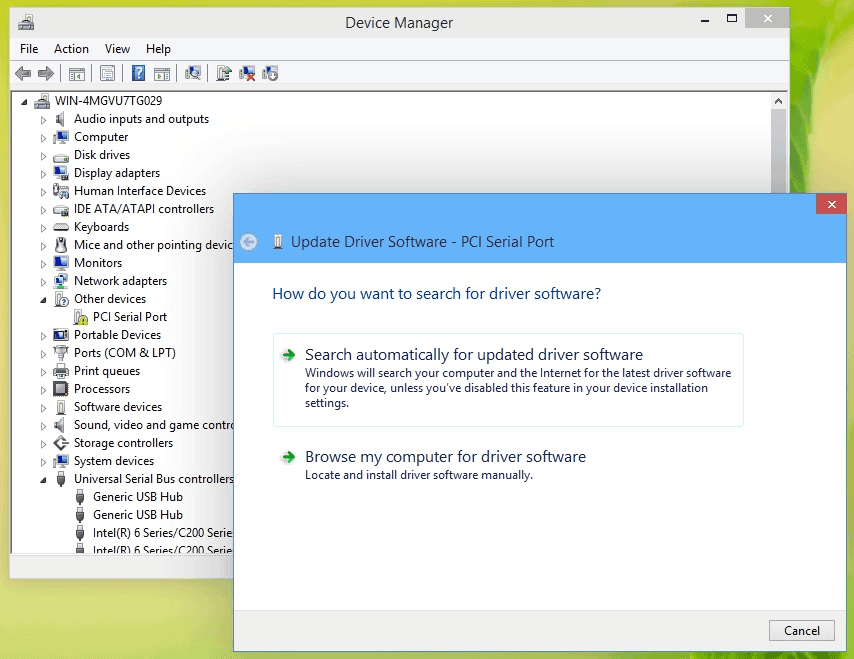 disk not initialized the device is not ready
