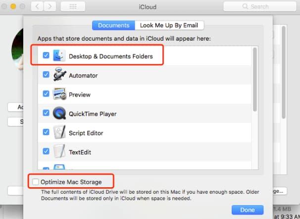 documents folder is empty on mac
