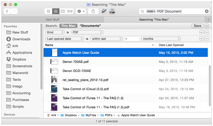 how to see recently deleted files on mac