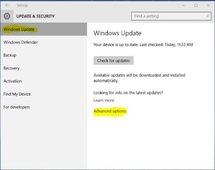 0x80240fff windows update