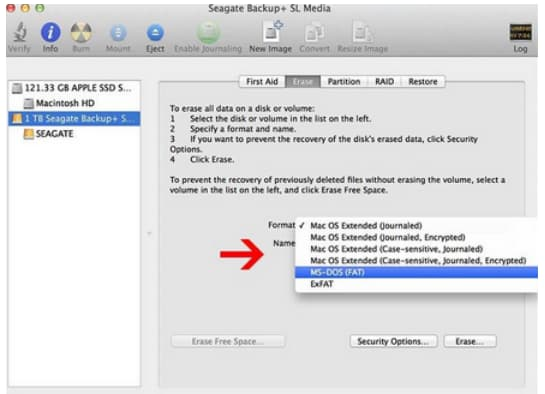 how format usb to fat32 on mac