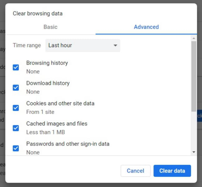 how to erase google history on mac