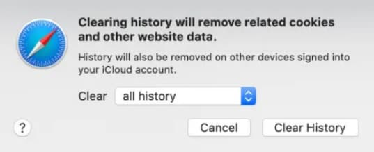how to clear cache and cookies on safari macbook pro