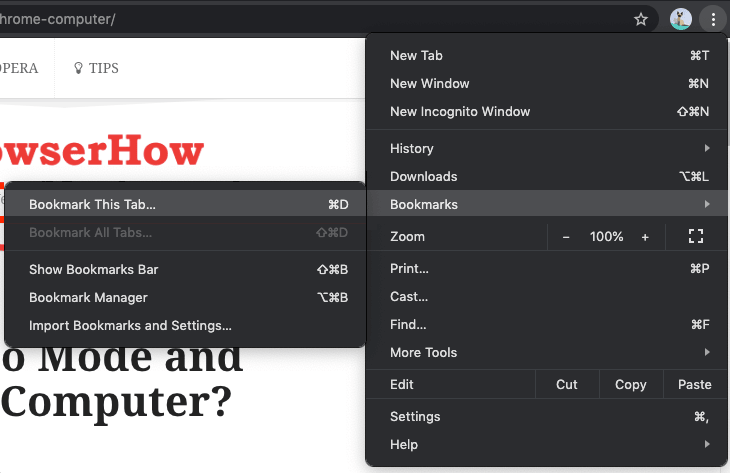 how to remove websites from bookmarks on mac