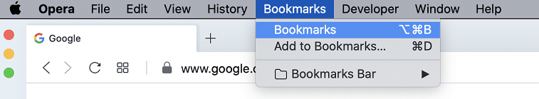 how to delete bookmarks from toolbar on a mac