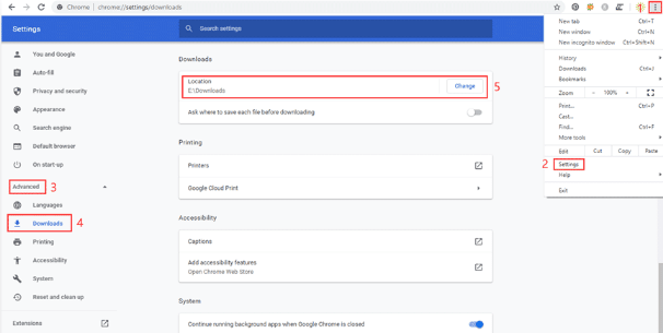 how to open download file in google chrome