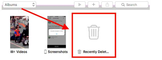 how to recover iphoto library
