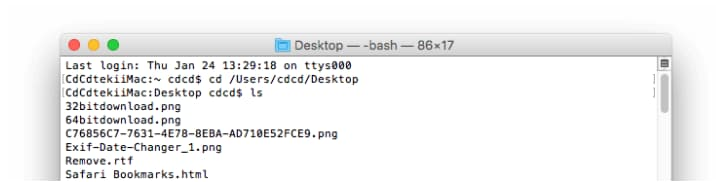 recover desktop files on mac
