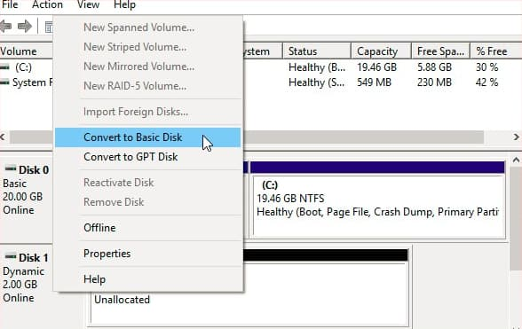 recover dynamic disk