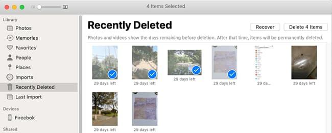 recover deleted screenshots mac