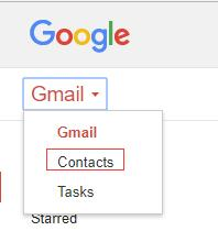 how to import contacts from gmail to iphone