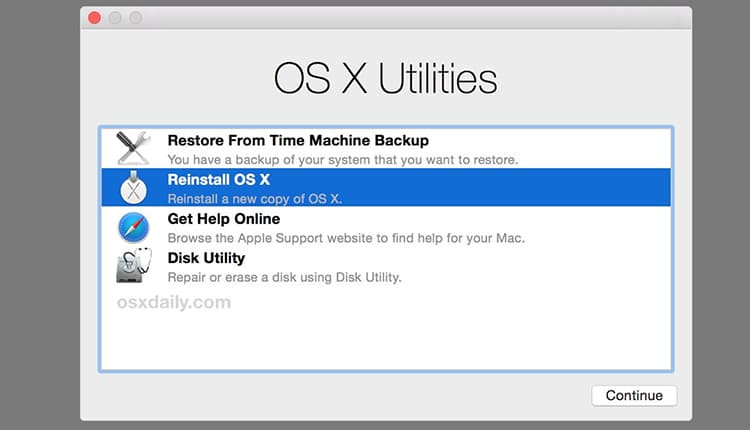 install macos without losing data