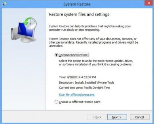 how to fix your pc ran into a problem windows 8