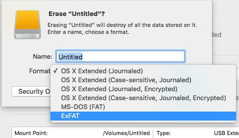 lacie external hard drive won't mount mac