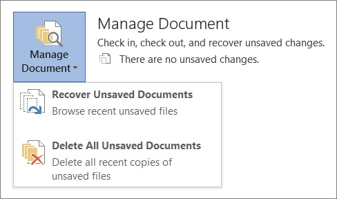 recover the previous version of Word/Excel/PPT file from ASUS laptop