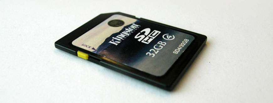 unformat sd card