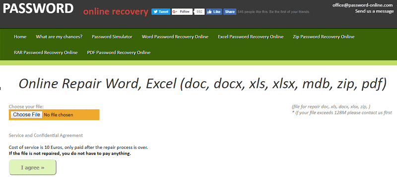 Word Recovery Online - Top 5 Corrupted Word File Recovery Online