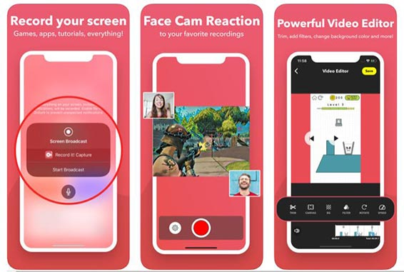 video screen recorder iphone