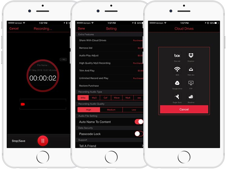 best voice recorder app for iphone
