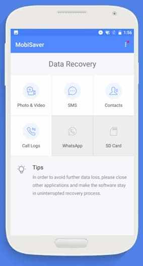 recover corrupted sd card android app