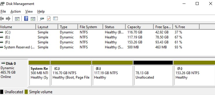 how to recover files from dynamic disk