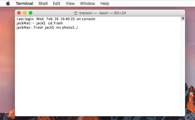 recover deleted files on mac using terminal