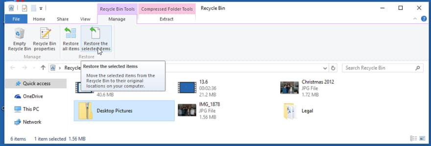 recover deleted photos from windows 10