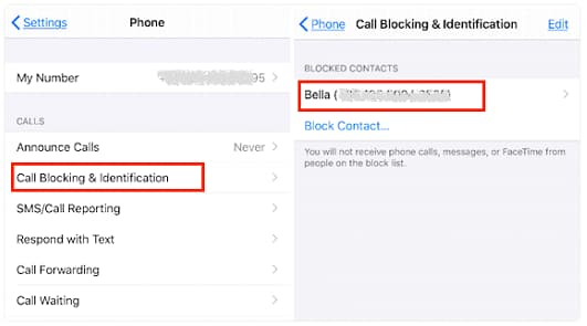 can i recover blocked messages on iphone
