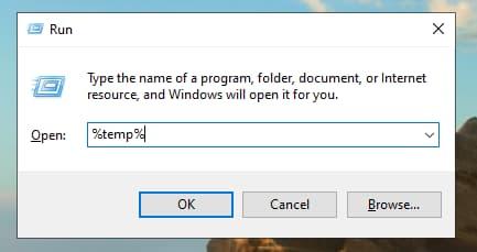 restore tmp file