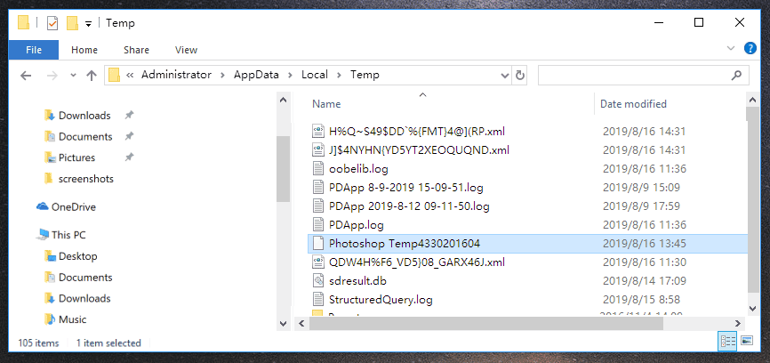 Guide(6 Ways) for Recover Deletd/Corrupted/Crashed PSD File