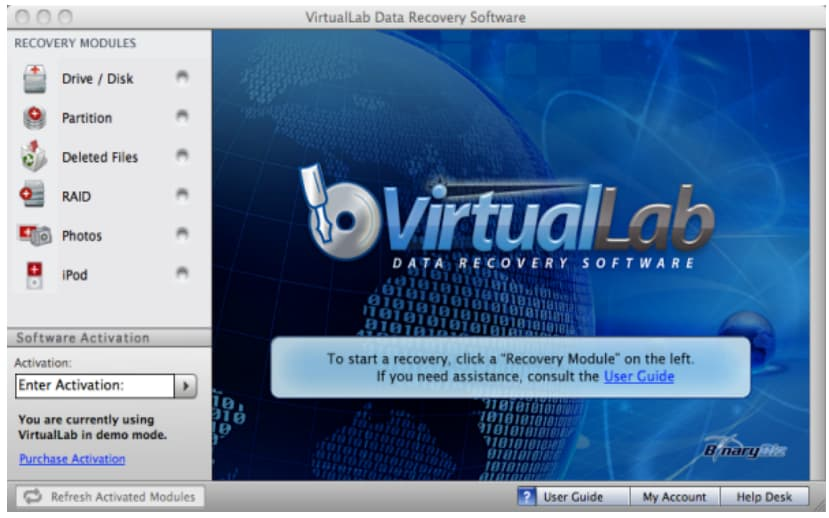 virtualLab for mac