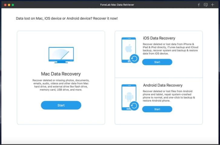 foneLab data retriever