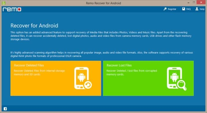 file recovery android
