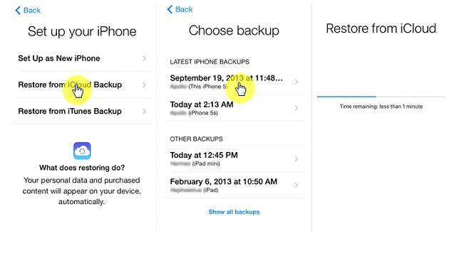 how to restore deleted photos on iphone