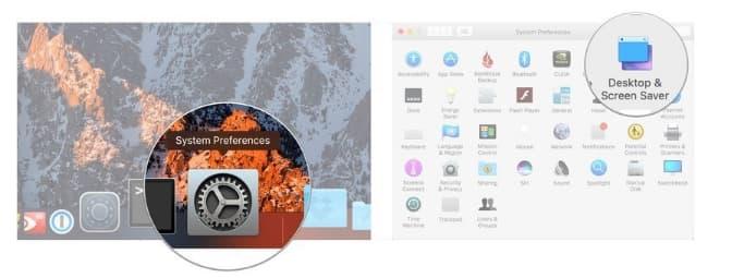 restore desktop background mac