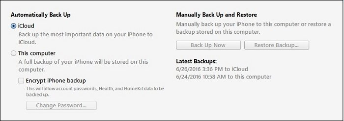 restore whatsapp from itunes backup