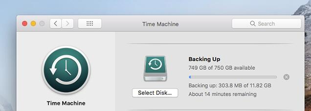Restore Lost Files on Mac from Time Machine