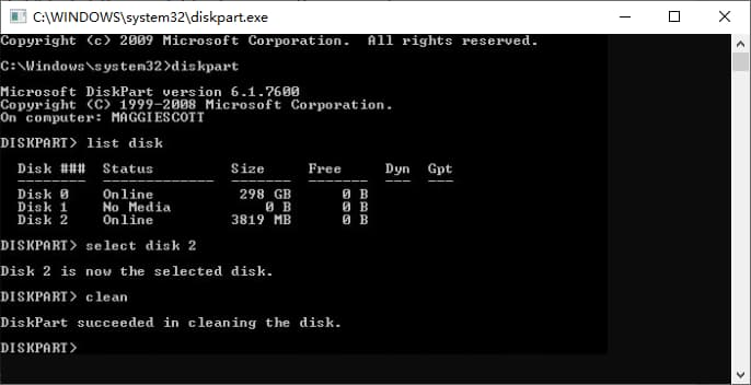 cannot format sandisk micro sd card