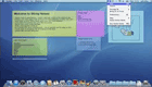 how to get back sticky notes on mac