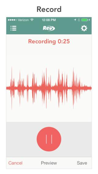 voice recorder app iphone